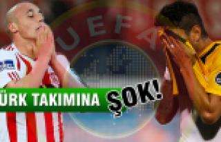 UEFA Sivasspor ve Eskişehirspor'u men etti!