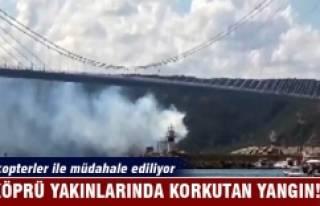 Yavuz Sultan Selim Köprüsü yakınında korkutan...