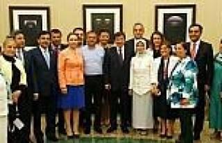Yeni Başbakan Davutoğlu'na İlk Ziyaret Kırşehir...