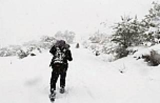 Yılın ilk kar tatili verildi