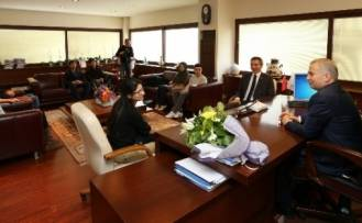 Gençlik Meclisi'nden Başkan Zolan'a Ziyaret