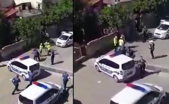 Aşırı güç kullanan polisler açığa alındı