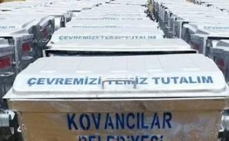 Kovancılar'a 150 Adet Çöp Konteyneri
