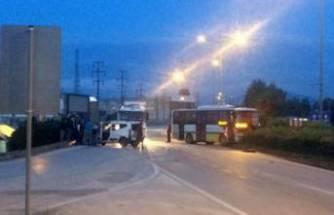 Bursa'da halk otobüsü ile otomobil çarpıştı! Çok sayıda yaralı var