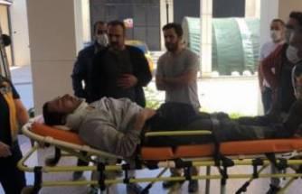 Bursa'da işçiler silo ile birlikte yere çakıldı
