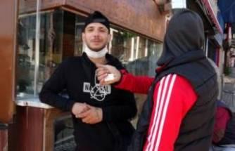 Bursa'da polise yakalanan gençlerin rahat tavırları 'pes' dedirtti!