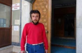Bursa'da camide mahsur kaldı!