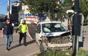 Bursa'da sokağa çıkma yasağında ilginç kaza