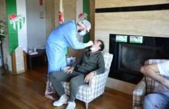 Bursaspor'a koronavirüs testi yapıldı, hazırlıklar başladı!