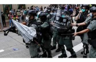 Hong Kong'da Çin'in yeni güvenlik yasa tasarısı protesto edildi