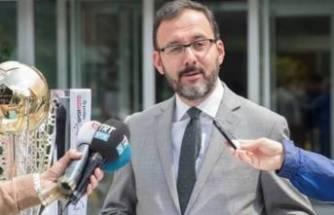 """Kasapoğlu: """"Haziran ayı içerisinde spor salonlarını açmayı planlıyoruz"""""""