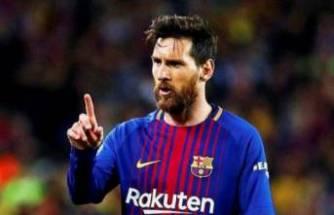 Messi'den Barcelona'ya rest