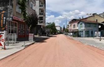 Osmangazi'den yollara makyaj