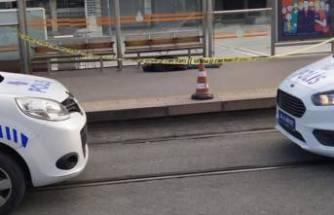 Tramvay durağında bu halde bulundu