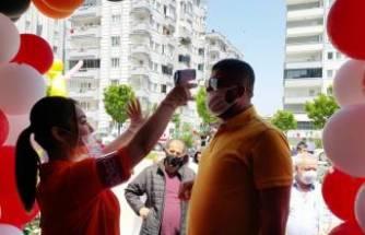 Bursa'da bedava dönere yoğun ilgi