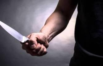 Bursa'da kan donduran  olay! Eşinin gözü önünde bıçakladı