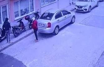 Bursa'da motosiklet hırsızları kameradan kaçamadı