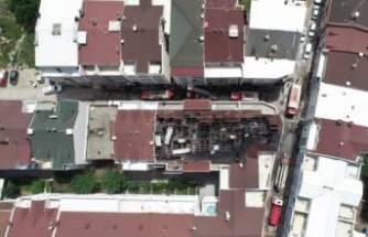 Bursa'da yangının boyutu söndürülünce ortaya çıktı