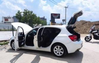 Çalındı ihbarı yaptığı otomobiliyle gezen sürücü, Bursa'da polisi alarma geçirdi
