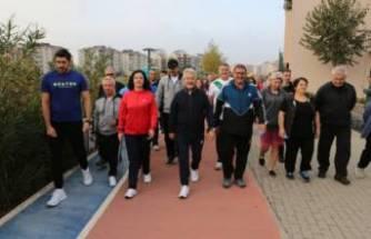 Nilüfer'de sağlık için yürüyüşler başlıyor