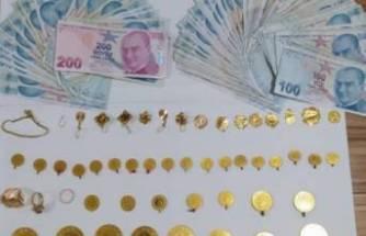 Bursa'da ormanlık alanda poşet poşet altın bulundu