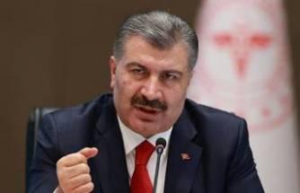 Sağlık Bakanı Fahrettin Koca'dan maske açıklaması