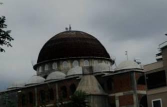 Bursa'da cami kubbesinde ölümüne tamir