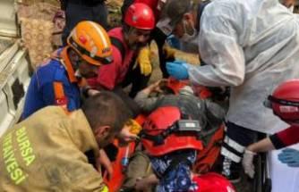 Bursa'da şelalede nefes kesen kurtarma operasyonu!