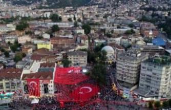 Bursa'da trafiğe miting ayarı!