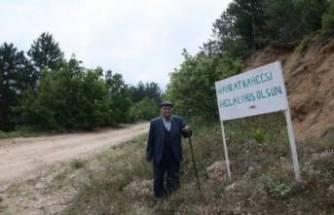 Bursa'daki bu bahçede sebze ve meyveler 23 yıldır ücretsiz!