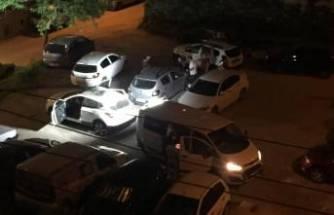 Bursa'da düz kontak yapıp çaldılar, yakıtı bitince bıraktılar