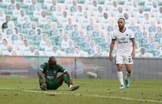 Bursaspor'un gözü artık Play-Off'ta