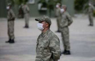 Karantinaya alınan asker sayısı 449'a ulaştı
