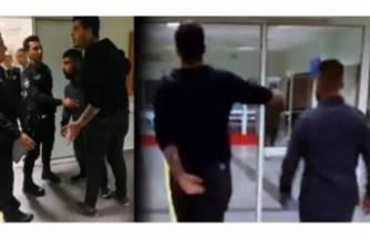 Polise saldıran iki zorbanın cezası belli oldu