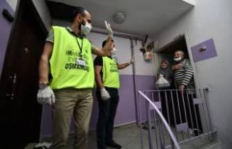 Virüsle mücadelede Osmangazi farkı