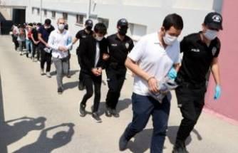 Yasa dışı bahis çetesine 14 tutuklama