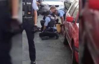 Almanya'da polisin Türk aileyi darbetti!