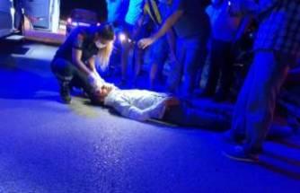 Bursa'da alkollü sürücü, 2 kez motosikletini devirdi