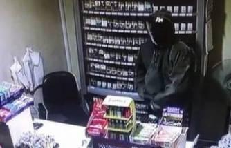Bursa'da maskeli hırsız benzin istasyonunu soydu