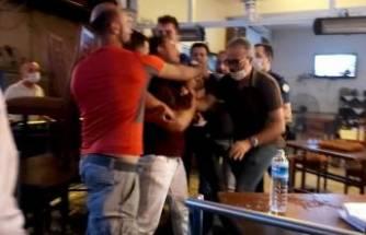 """Bursa'da """"Neden masama bakıyorsun?""""kavgası"""