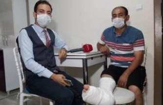 Bursa'da ölümden dönen işçi, o anları anlattı