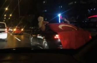 Bursa'da 'ölümüne' asker uğurlaması! Sokağı kapattılar