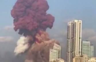 Lübnan'da patlama!