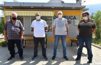 Osmangazi'de taksi duraklarını yenileniyor