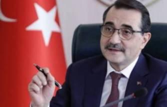 Bakan Dönmez'den 'doğal gaz' açıklaması
