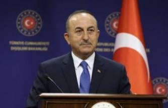 """Bakan Çavuşoğlu: """"Yunanistan Büyükelçisi bakanlığa çağrıldı"""""""