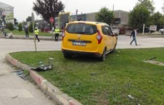 Bursa'da aynı kavşakta bir kaza daha!