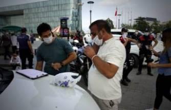 Bursa'da Kovid-19 tedbirlerine uymayanlara ceza yağdı!