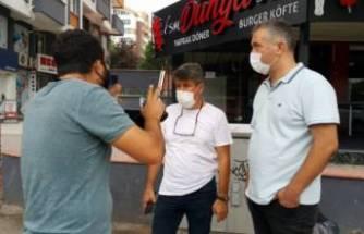 Bursa'da maske takmadığı için ceza yedi, 'Karım benimle kavga eder' dedi
