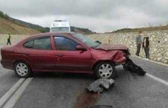 Bursa'da feci kaza! TIR'a arkadan çarptı